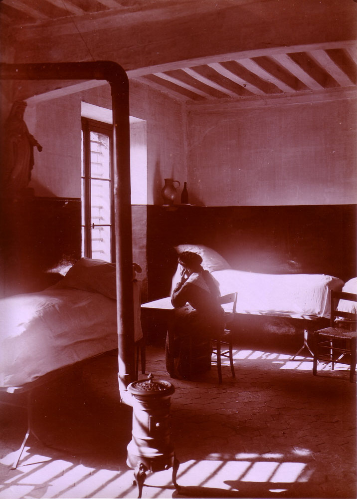 "Prisoner in one of the cells ""de la pistole."""