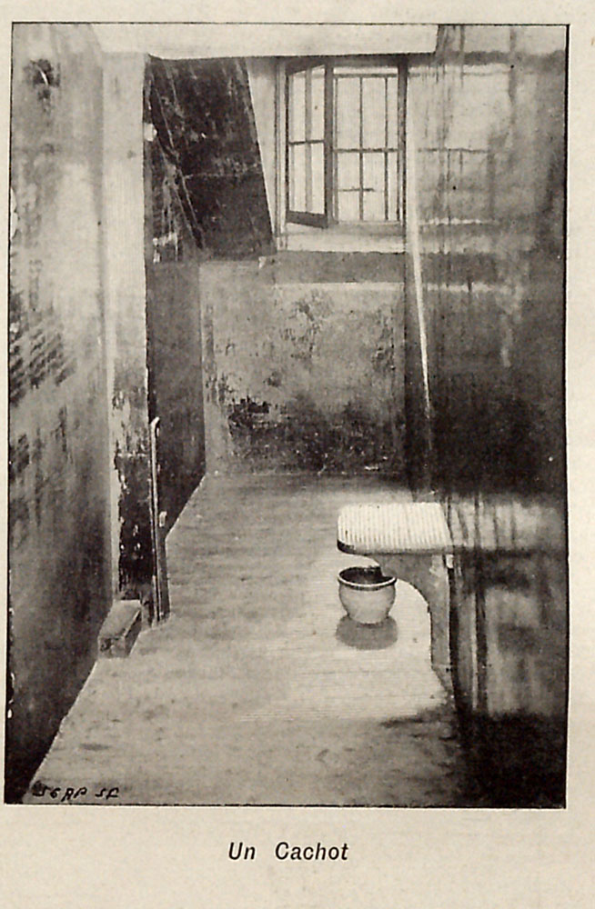Interior of a Solitary Confinment Cell