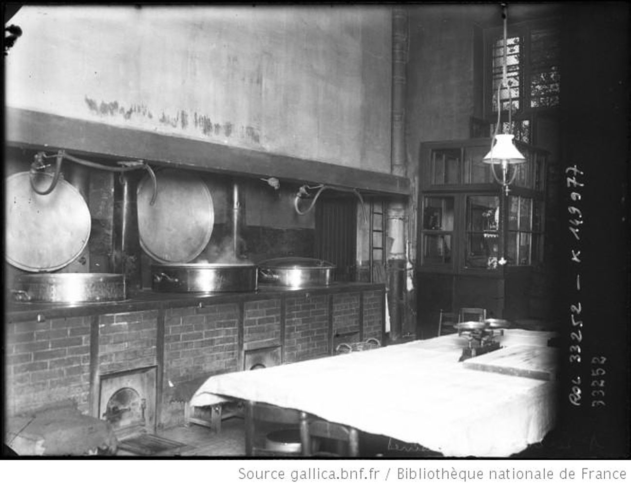 Prison-Saint Lazare, the kitchen