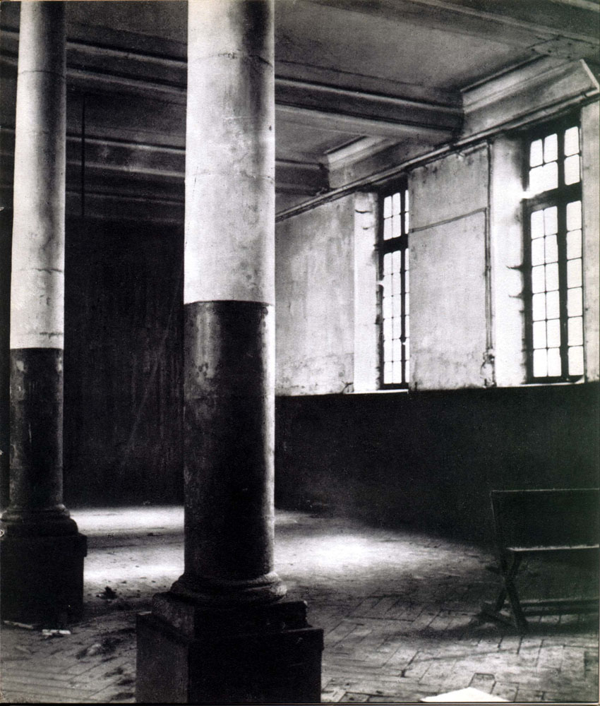 Prison Saint-Lazare, Interior View, Refectory.