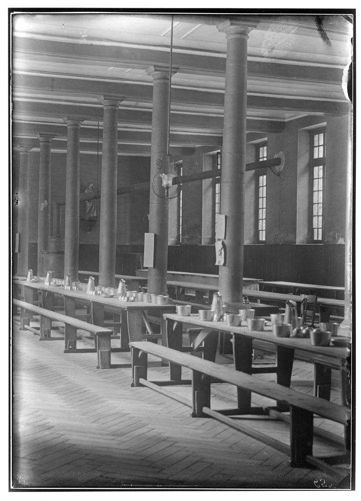 Prison Saint-Lazare, Interior View, Refectory