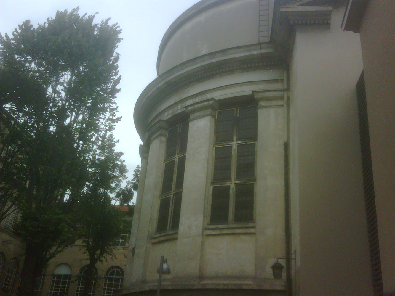 Prison Saint-Lazare, rear of chapel, infirmary wing