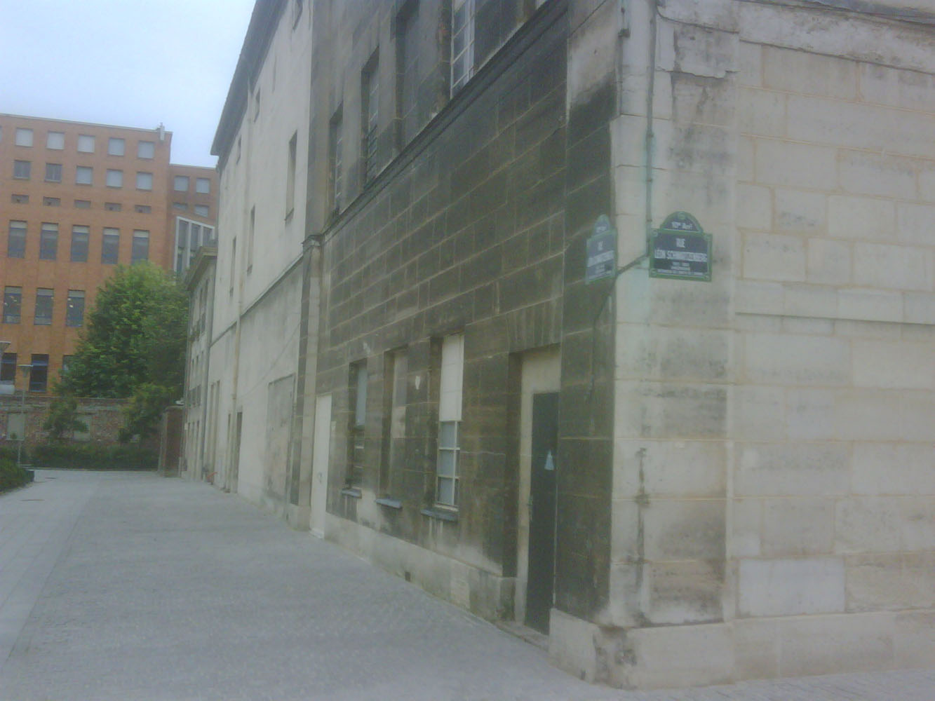 Prison Saint-Lazare, infirmary wing, exterior view